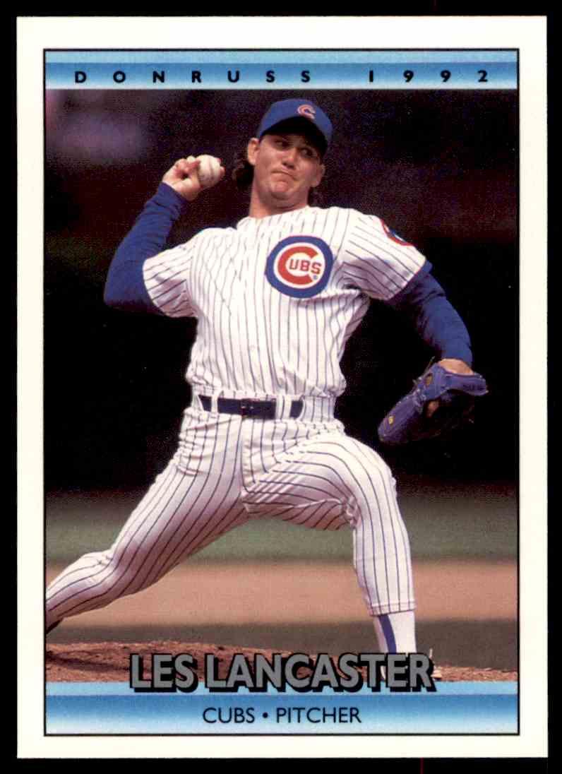 1992 Donruss Baseball Les Lancaster 296 On Kronozio