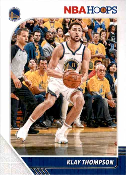 2019-20 Hoops Klay Thompson #60 card front image