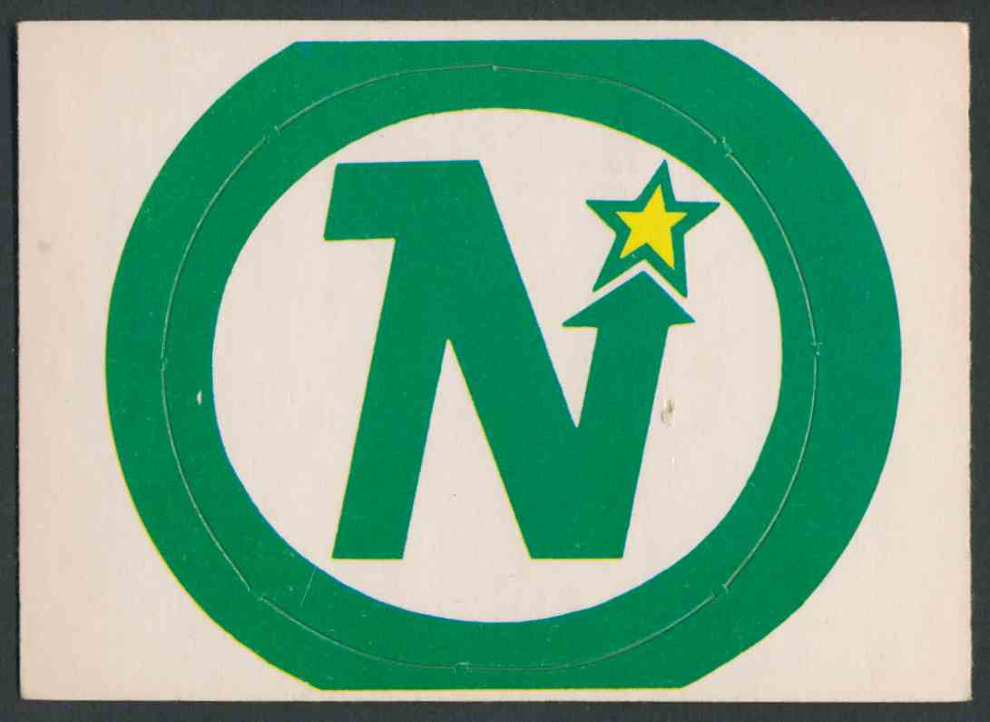 1972-73 O-Pee-Chee Minnesota North Stars Logo #9 card front image
