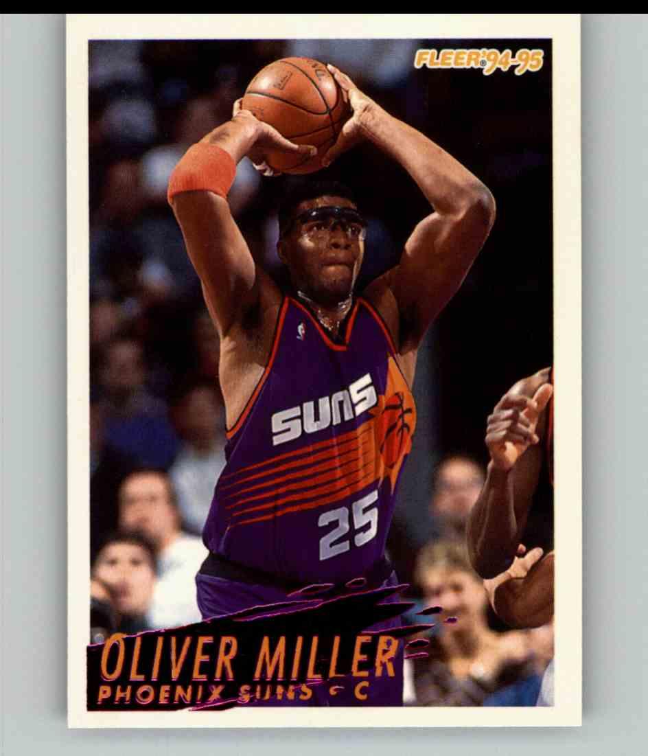1994-95 Fleer Oliver Miller #181 card front image