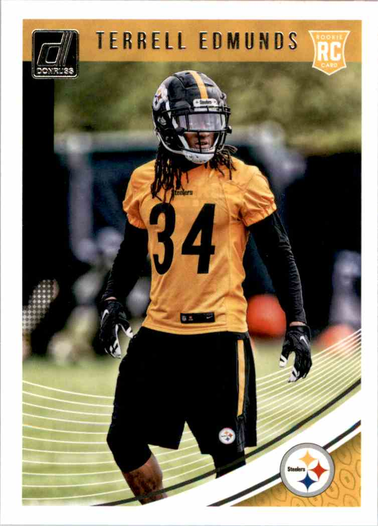 2018 Donruss Terrell Edmunds #362 card front image