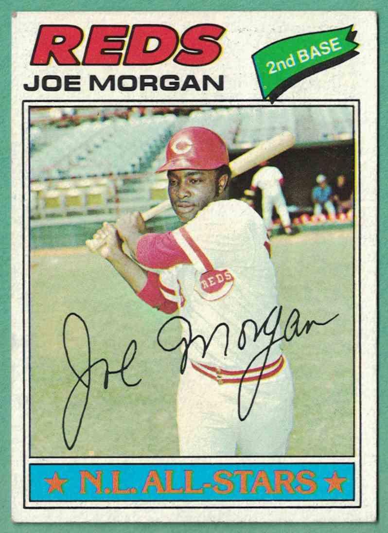1977 Topps Joe Morgan NM #100 card front image