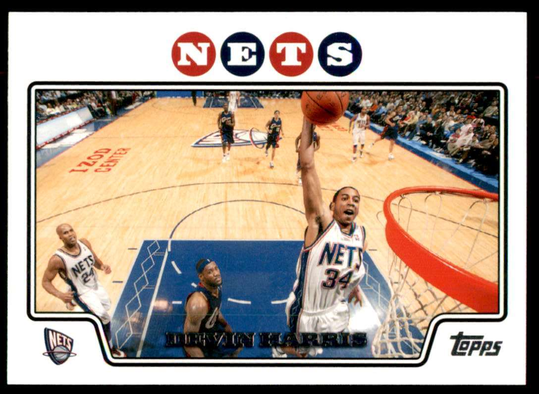 2008-09 Topps Devin Harris #78 card front image