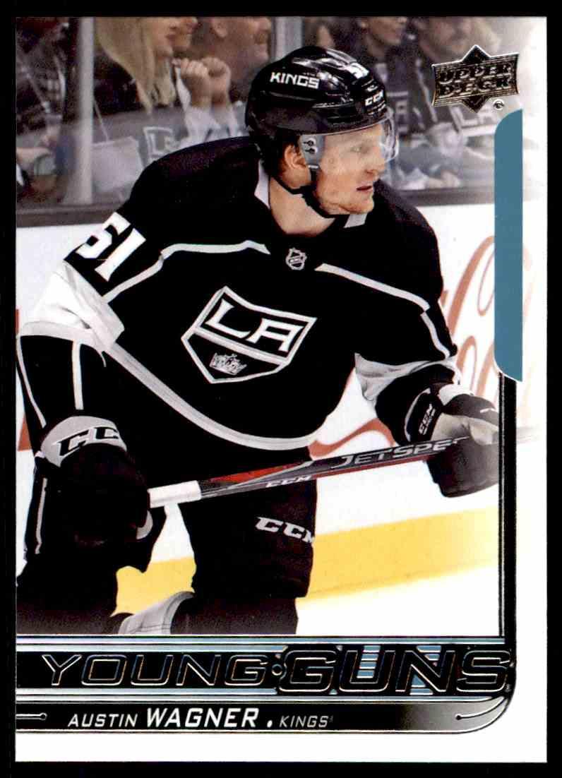 2018-19 Upper Deck ! Austin Wagner #222 card front image