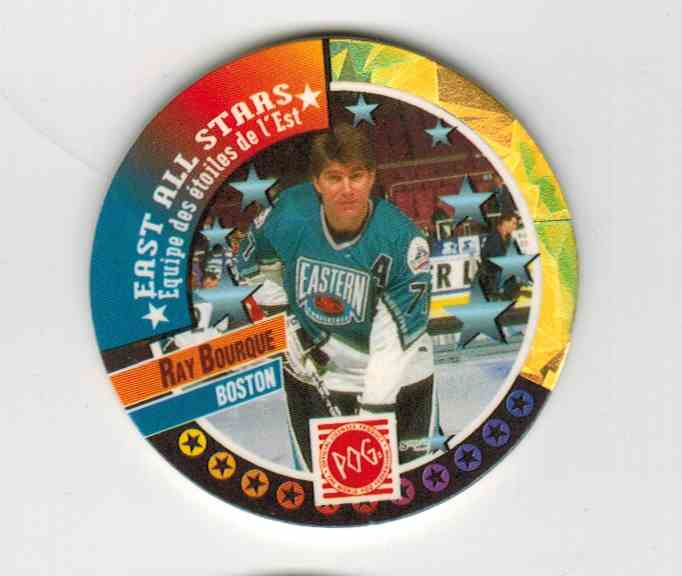 1994-95 Canada Games Pogs Ray Bourque #263 card front image