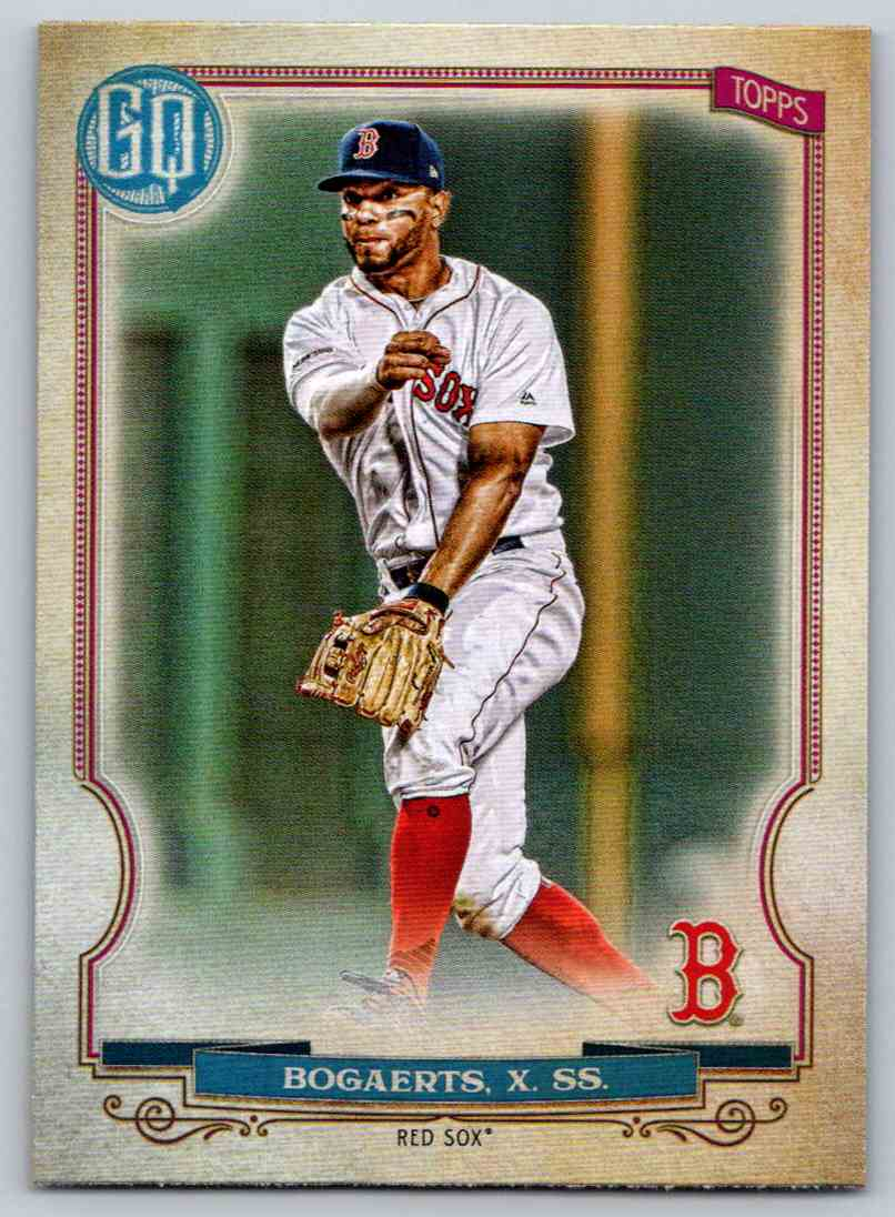 2020 Topps Gypsy Queen Base Xander Bogaerts #96 card front image