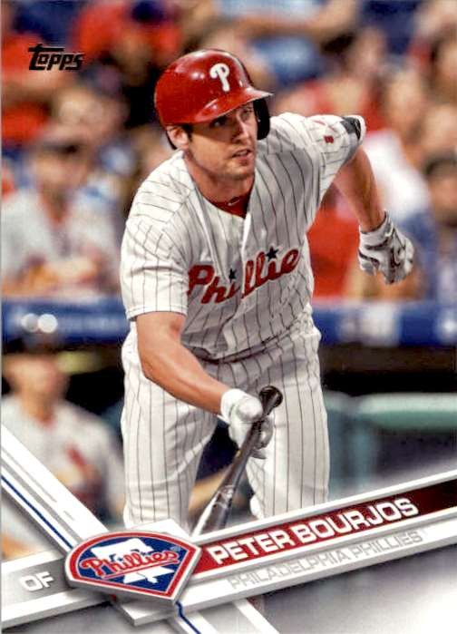 2017 Topps Series 2 Peter Bourjos #661 card front image