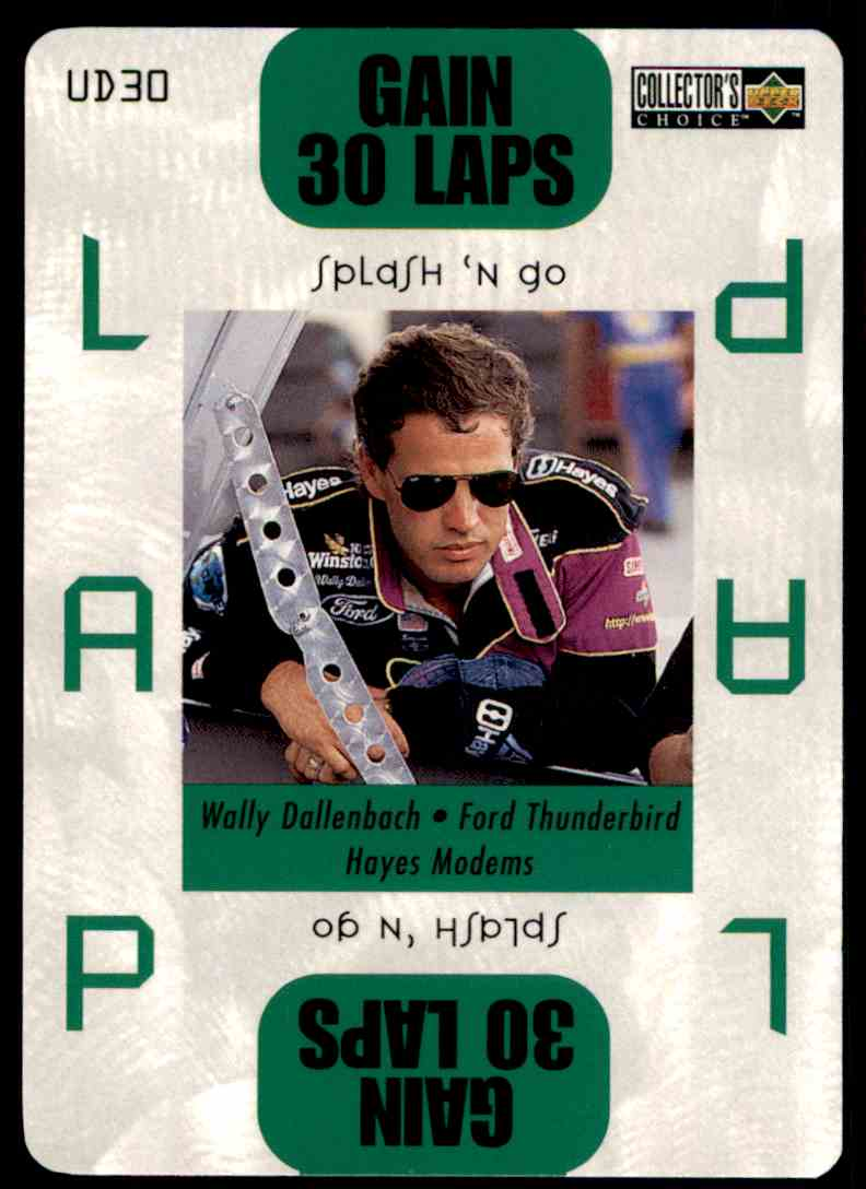 1996 Upper Deck Wally Dallenbach #UD30 card front image