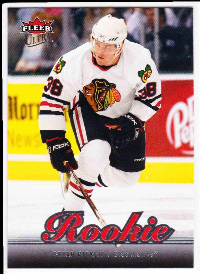 2007-08 Fleer Fleer Ultra Bryan Bickell #204 card front image