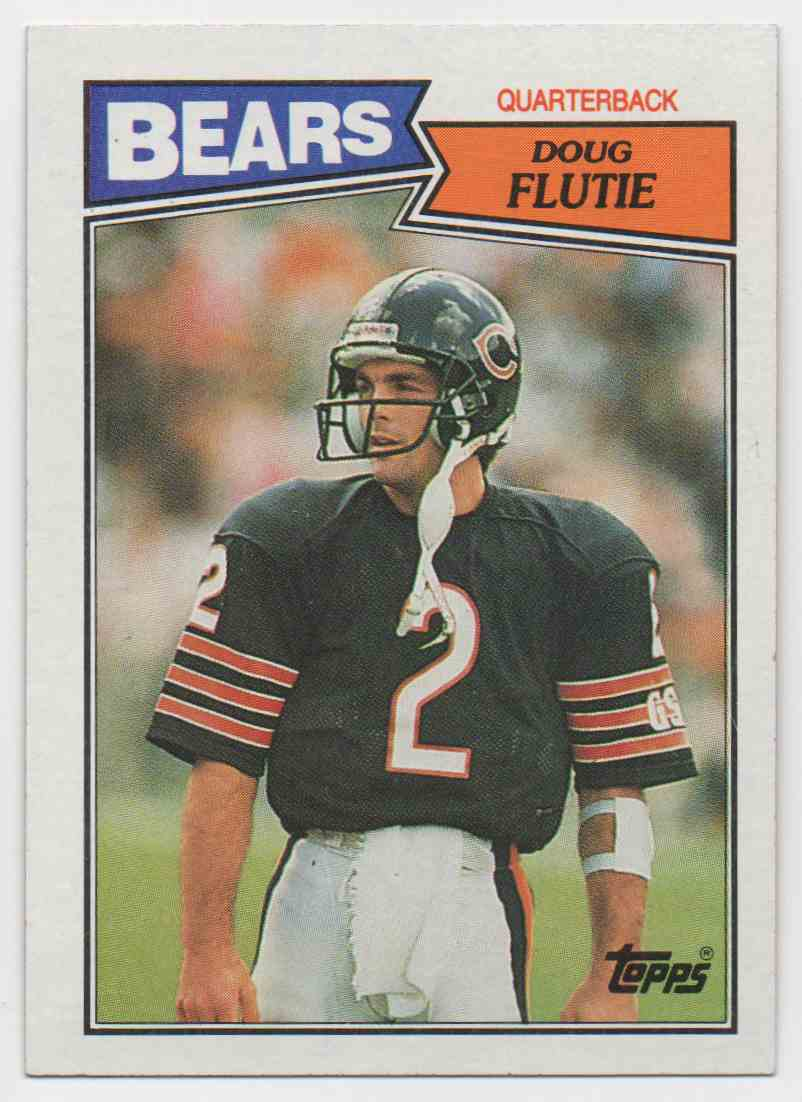 1987 Topps Doug Flutie #45 card front image
