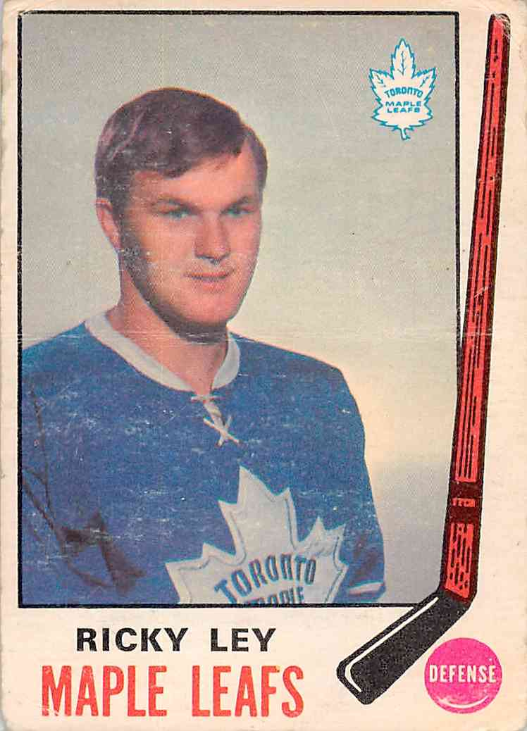 1969-70 O-Pee-Chee Ricky Ley #183 card front image