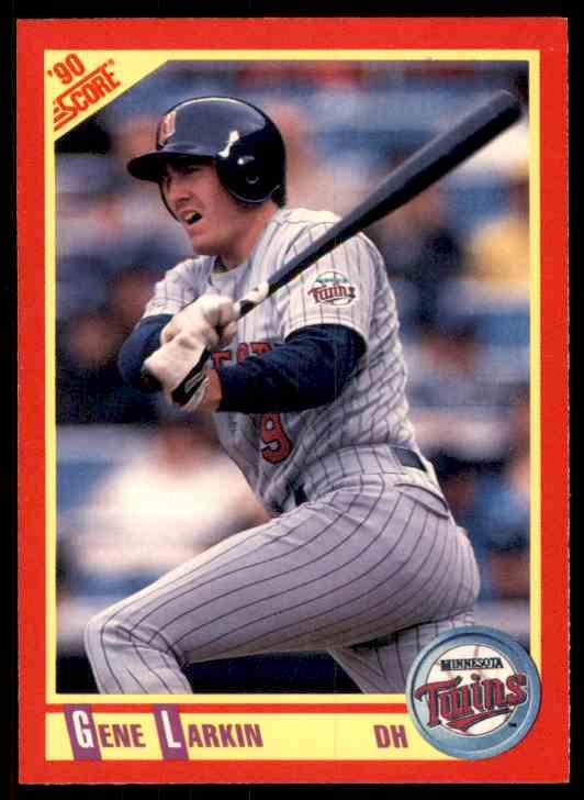 1990 Score Gene Larkin #276 card front image