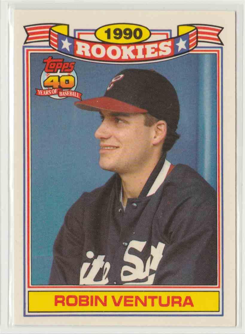 1991 Topps Rookies Robin Ventura 31 On Kronozio