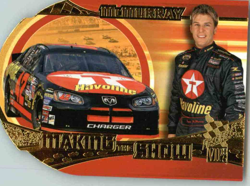 2005 Press Pass Vip Jamie Mcmurray #MS21 card front image