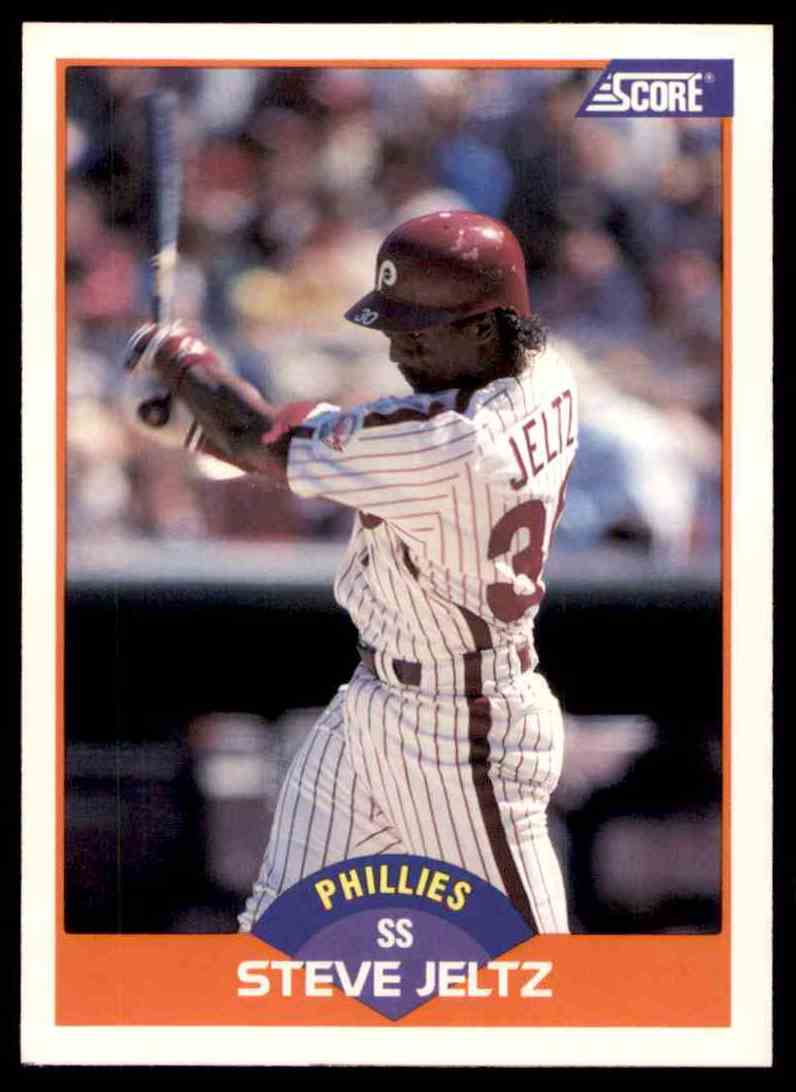 1989 Score Regular Steve Jeltz #355 card front image