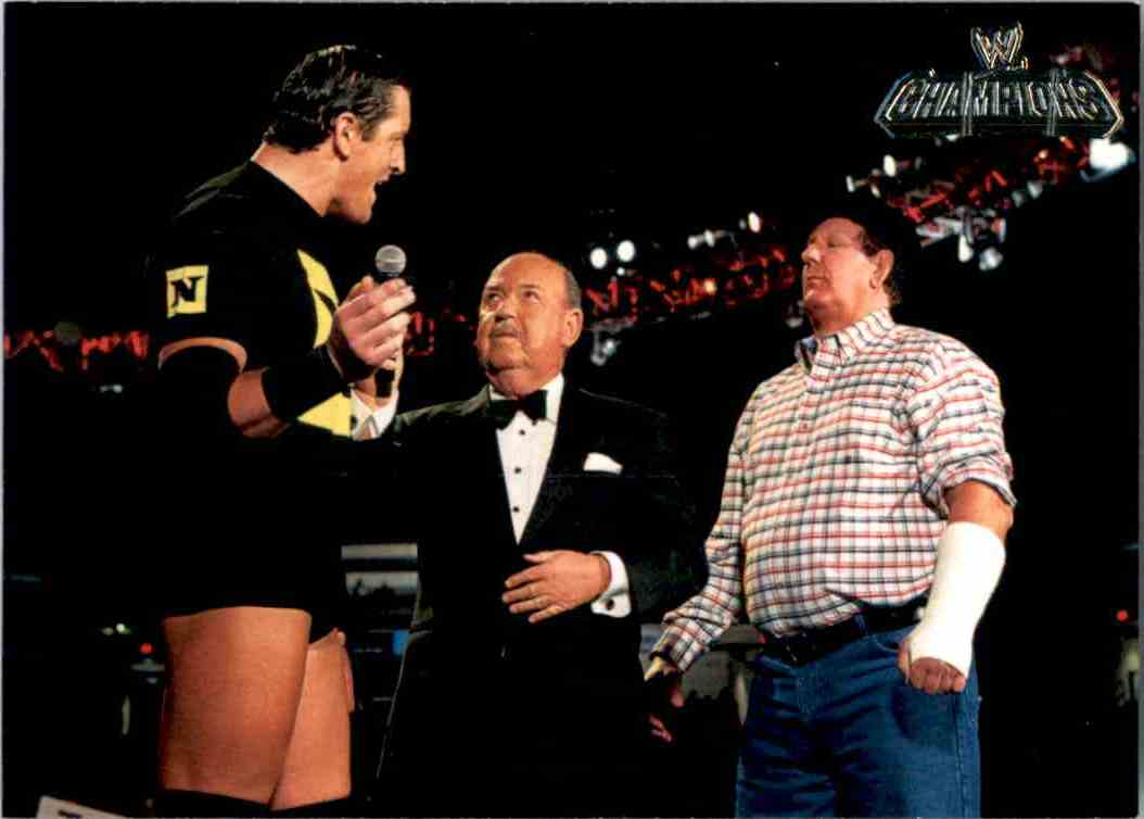 2011 Topps Wwe Champions Cowboy Bob Orton #68 card front image