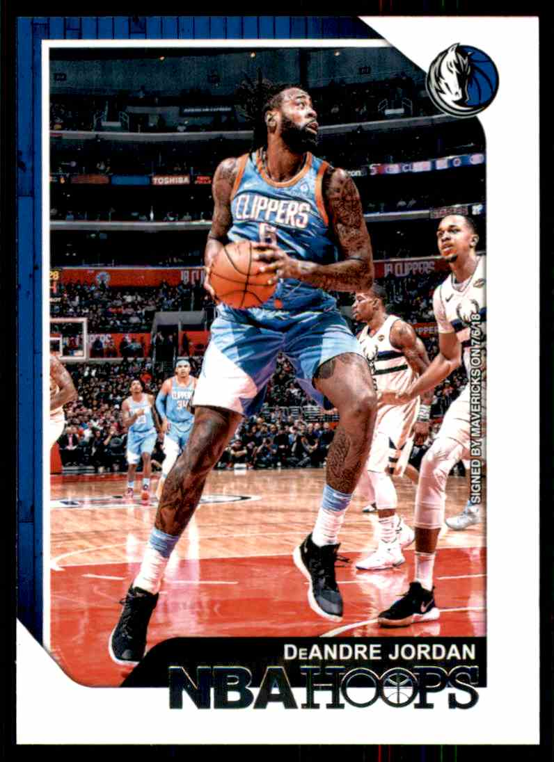 2018-19 Hoops DeAndre Jordan #135 card front image