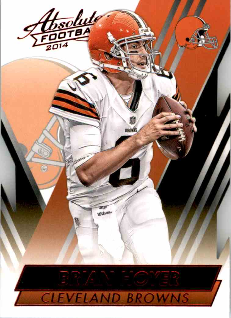 2014 Absolute Retail Red Brian Hoyer #77 card front image