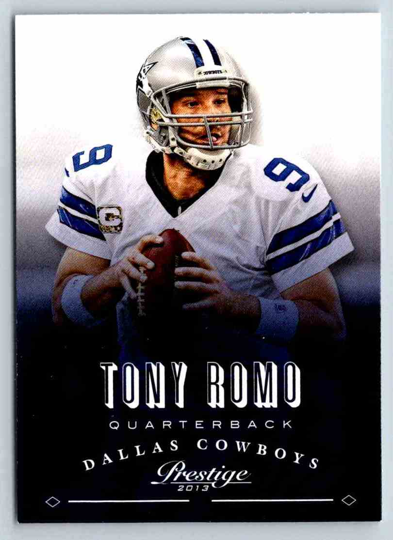 2013 Prestige Tony Romo #51 card front image