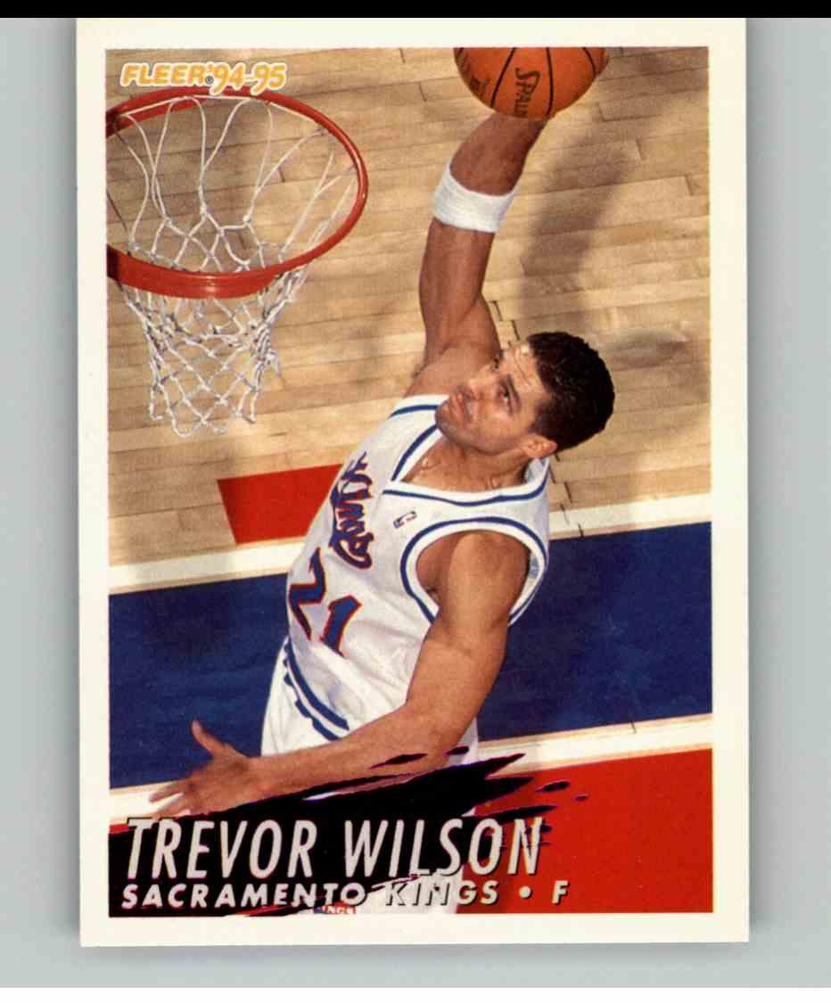 1994-95 Fleer Trevor Wilson #200 card front image