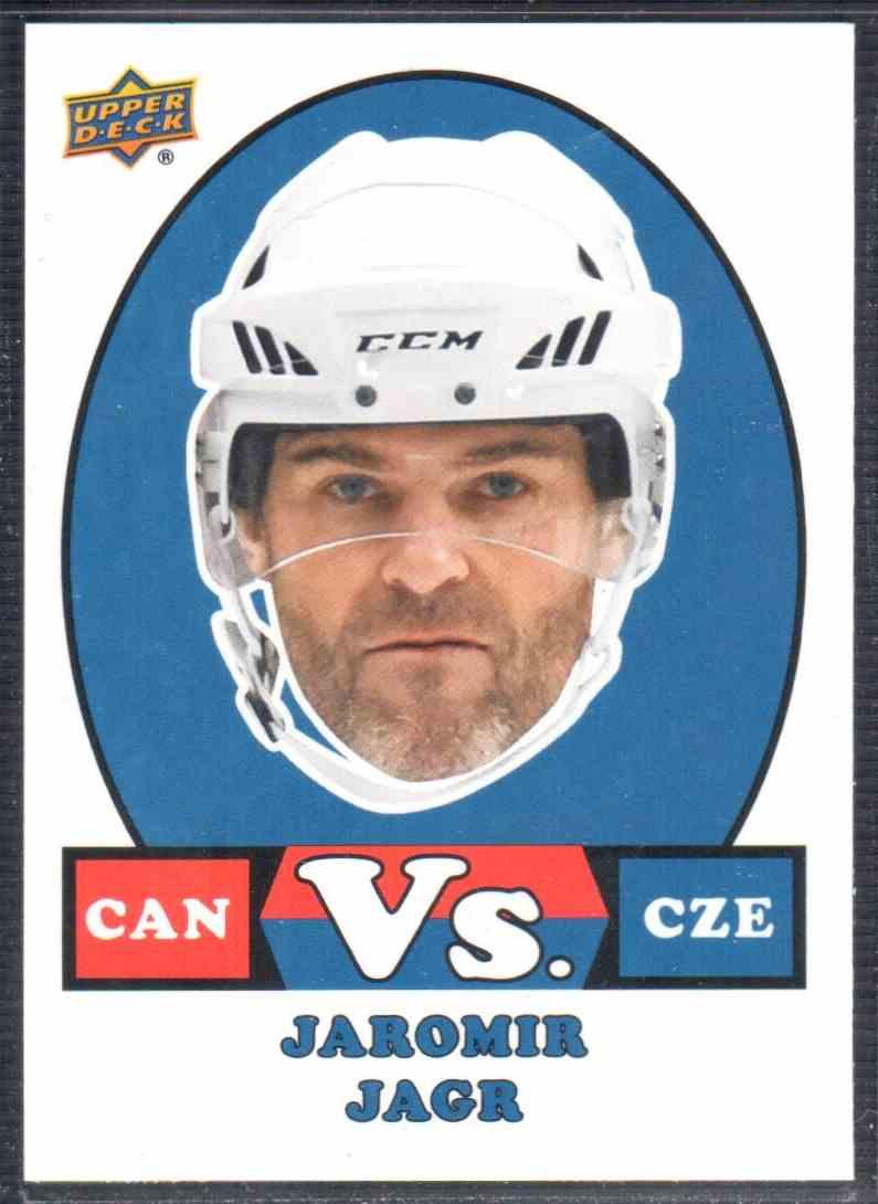 2017-18 Upper Deck Team Canada Canadian Tire Vs. Jaromir Jagr #VS-7 card front image