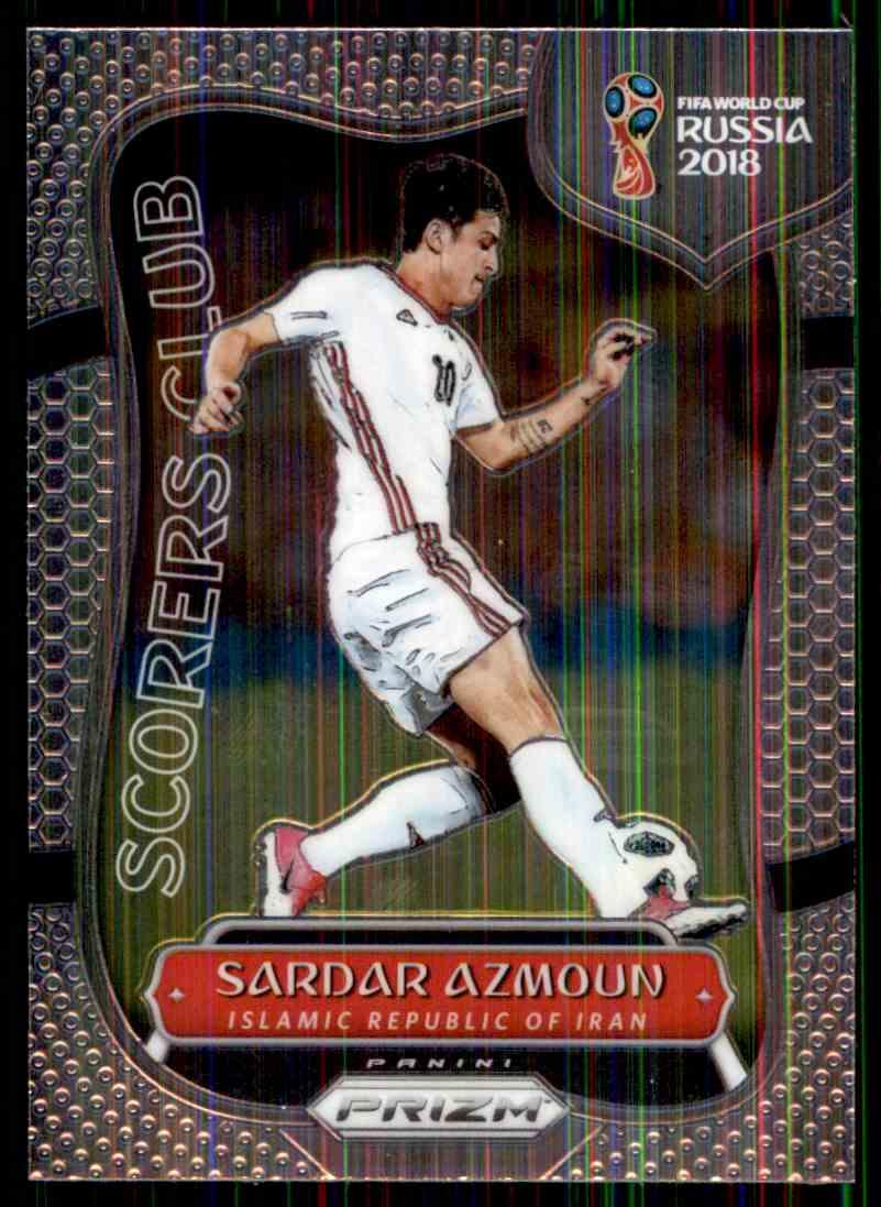 2018 Panini Prizm World Cup Scorers Club Sardar Azmoun #SC-11 card front image