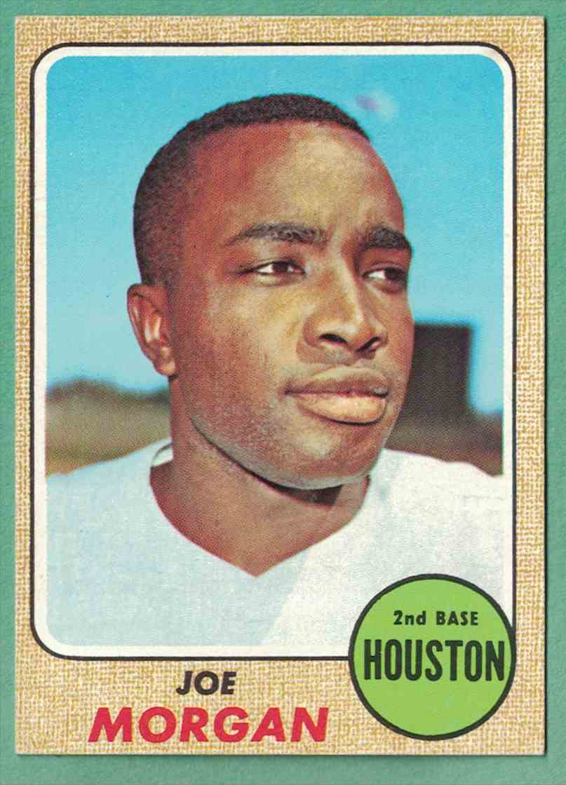 1968 Topps Joe Morgan EX+ surface wrinkle #144 card front image