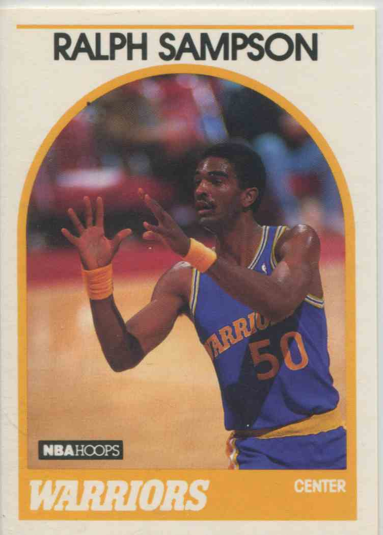 1989 90 NBA Hoops Ralph Sampson 39 on Kronozio