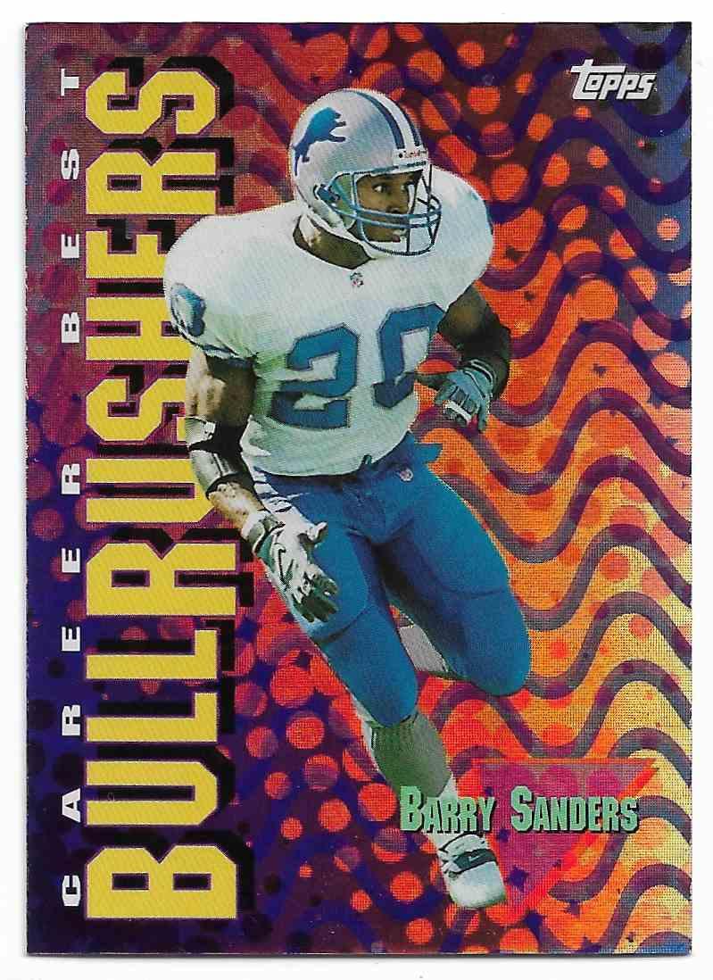 1999 Topps Season's Best Barry Sanders #SB27 card front image