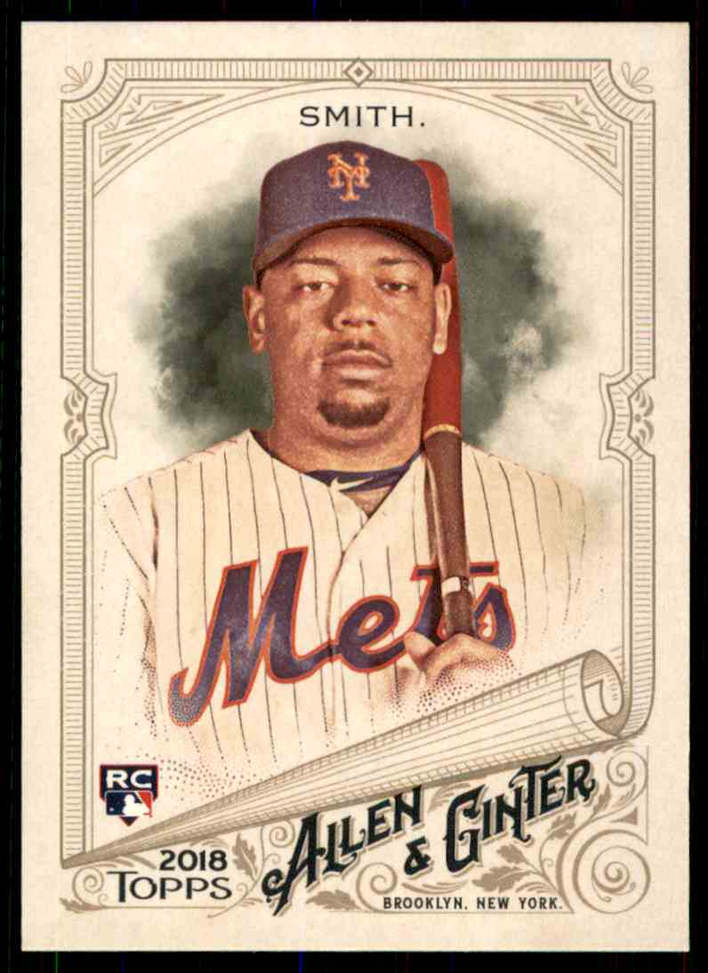 2018 Topps Allen & Ginter Dominic Smith #217 card front image