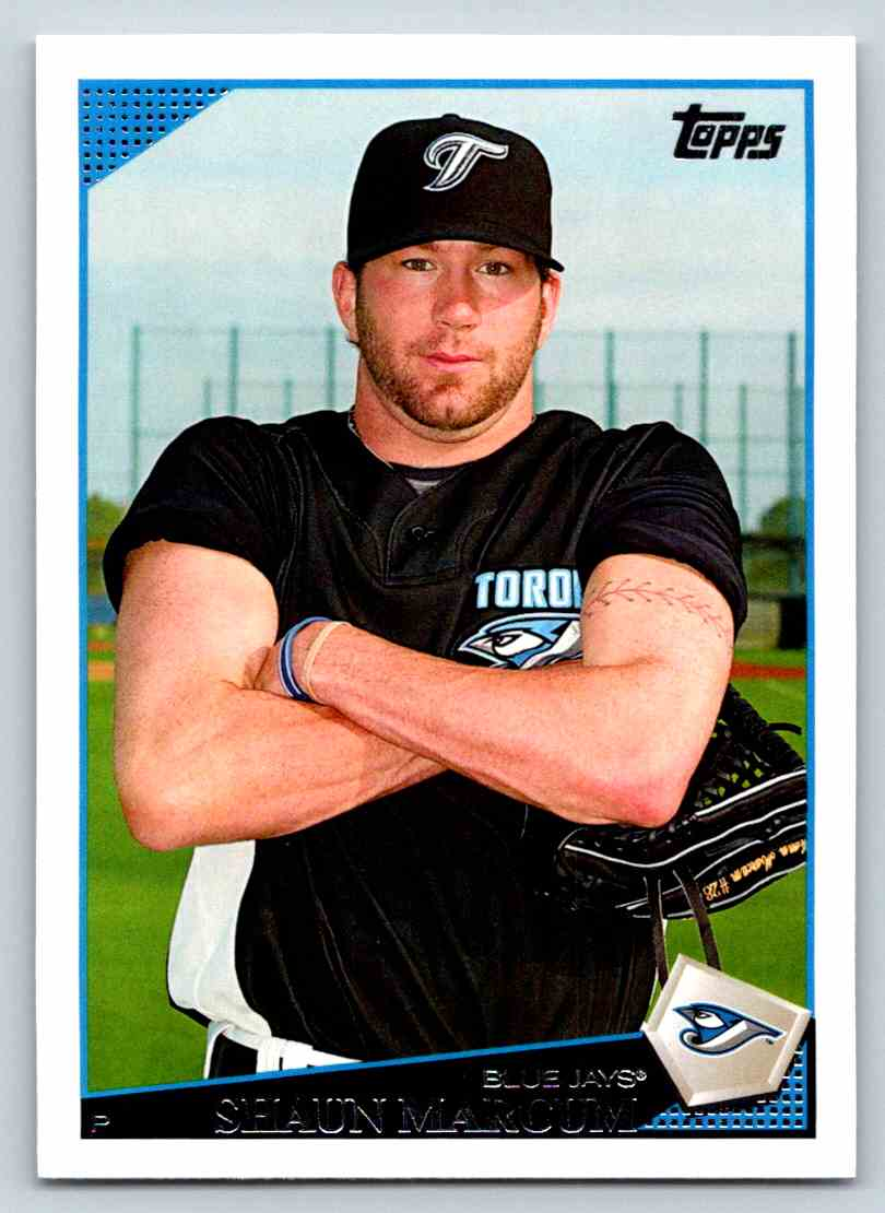2009 Topps Shaun Marcum #617 card front image