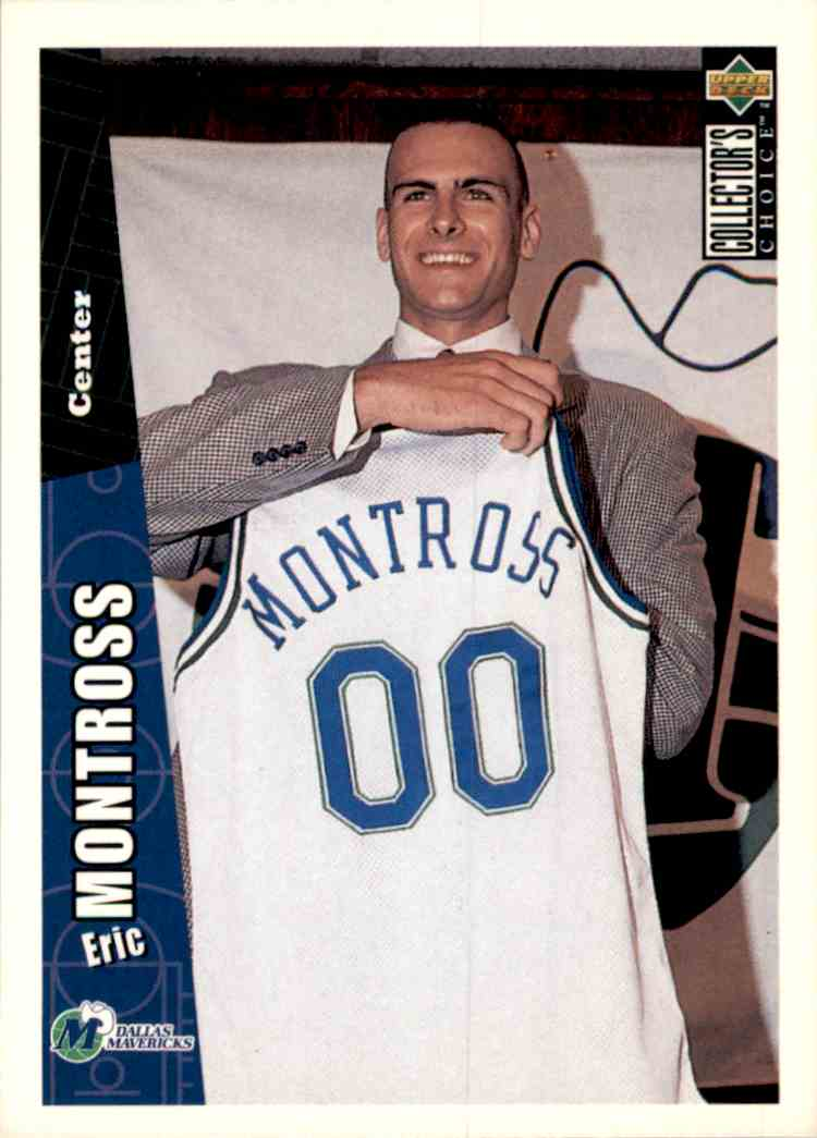 1996-97 Collector's Choice Eric Montross #231 card front image