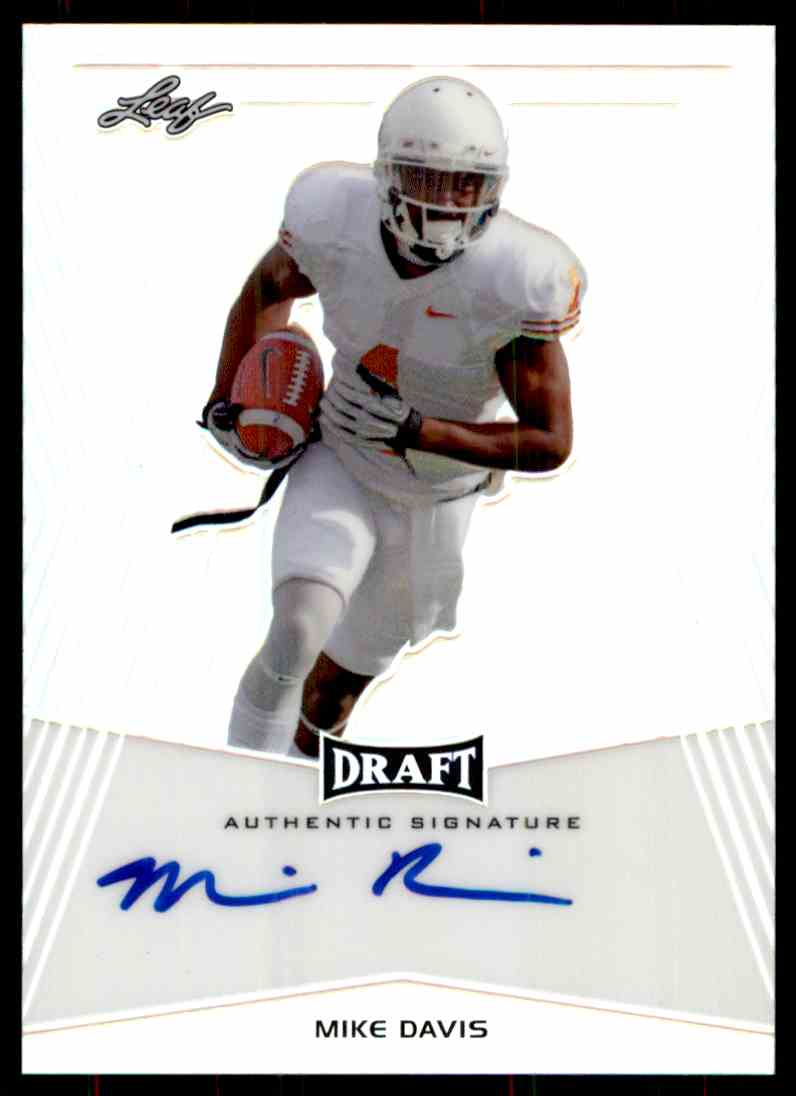 2014 Leaf Metal Draft Mike Davis card front image