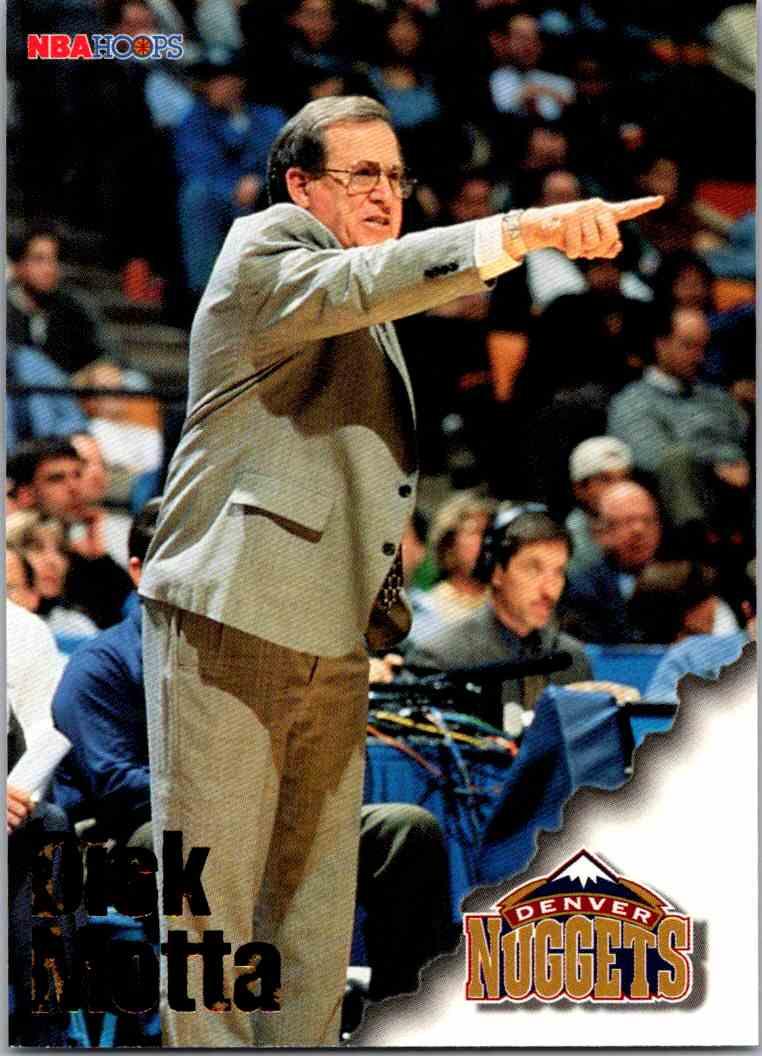 1997-98 NBA Hoops Dick Mottau #255 card front image