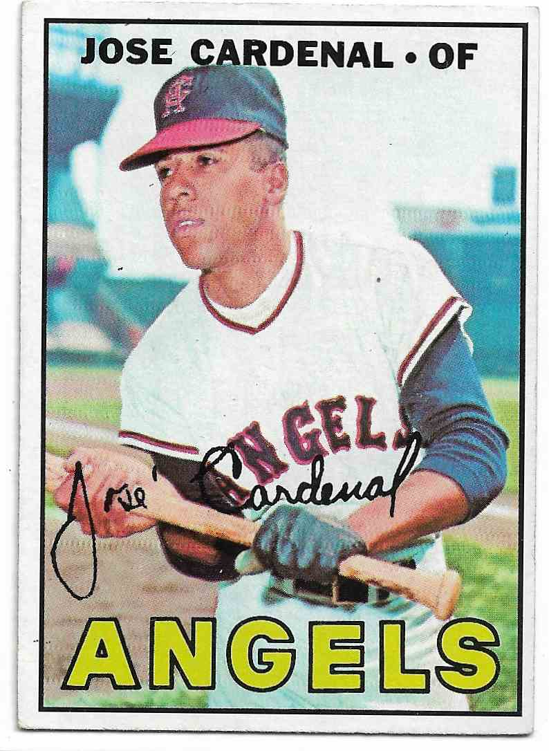 1967 Topps Jose Cardenal #193 card front image