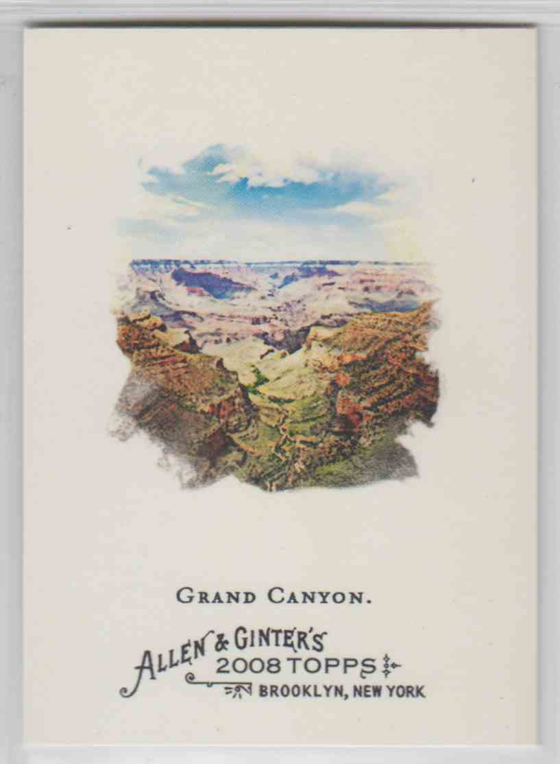 2008 Topps Allen And Ginter Grand Canyon #144 card front image