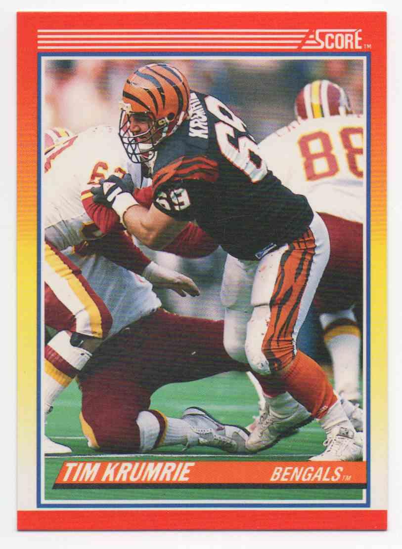 1990 Score Tim Krumrie #237 card front image