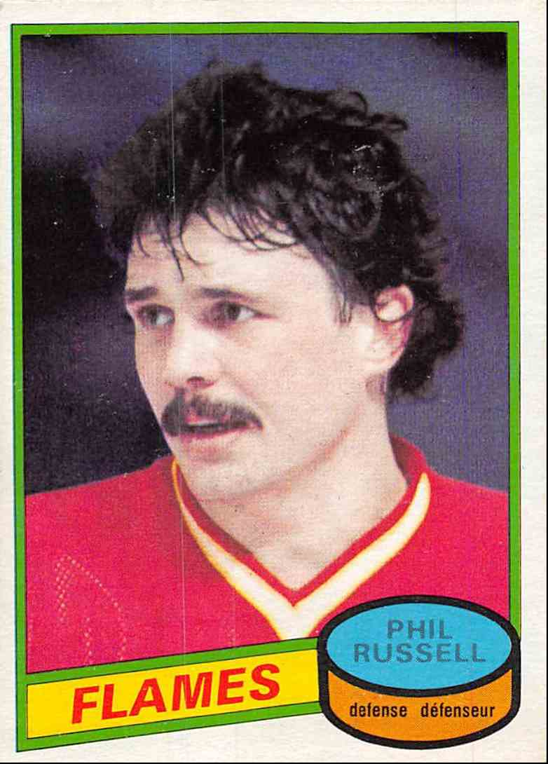 1980-81 O-Pee-Chee Phil Russell #226 card front image