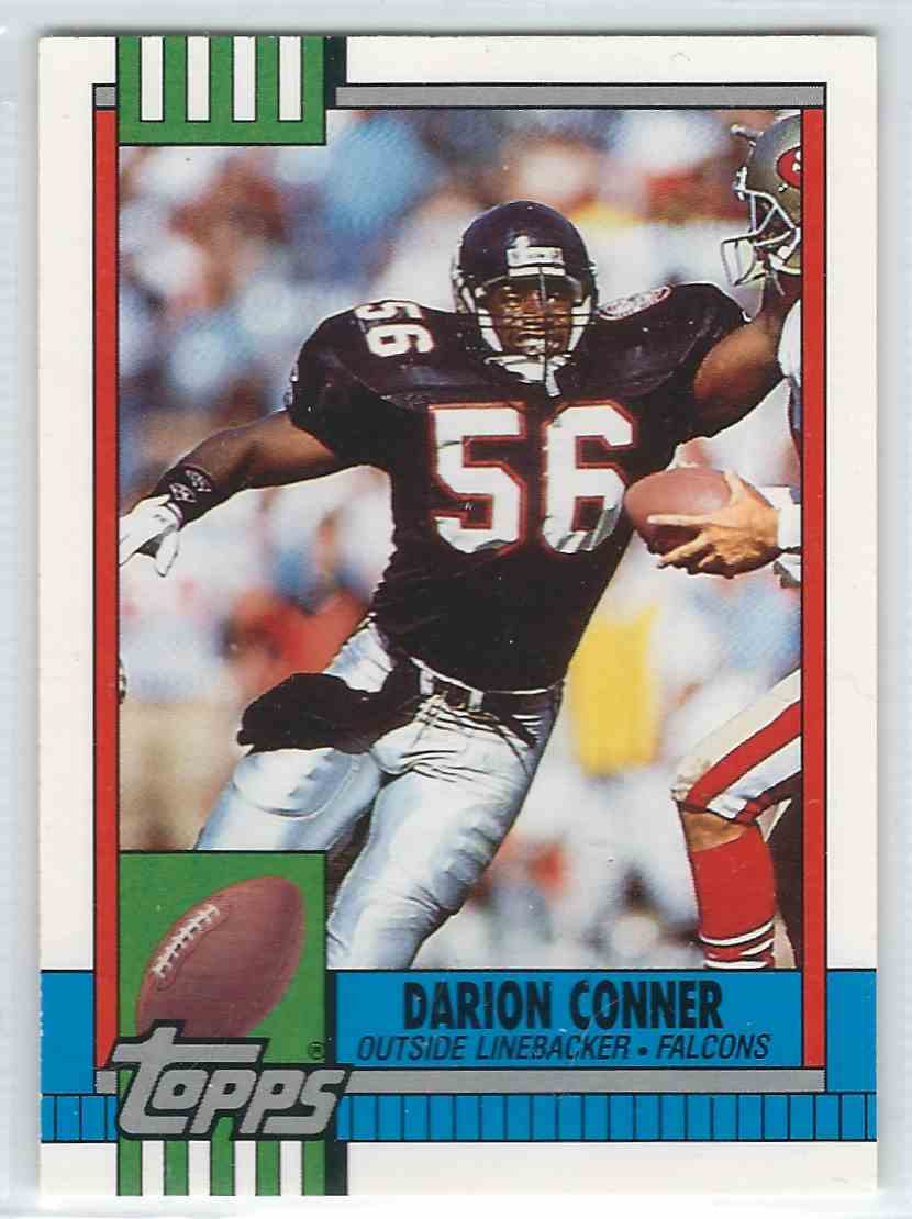 1990 Topps Traded Darrion Conner #122T card front image