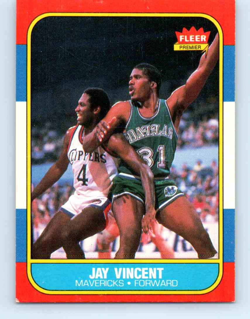 29 Jay Vincent trading cards for sale