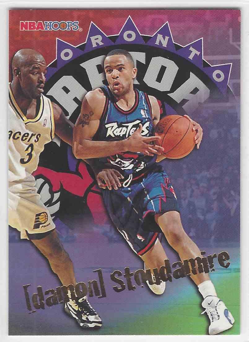 db0bdffb30d 1995-96 NBA Hoops Damon Stoudamire #347 card front image