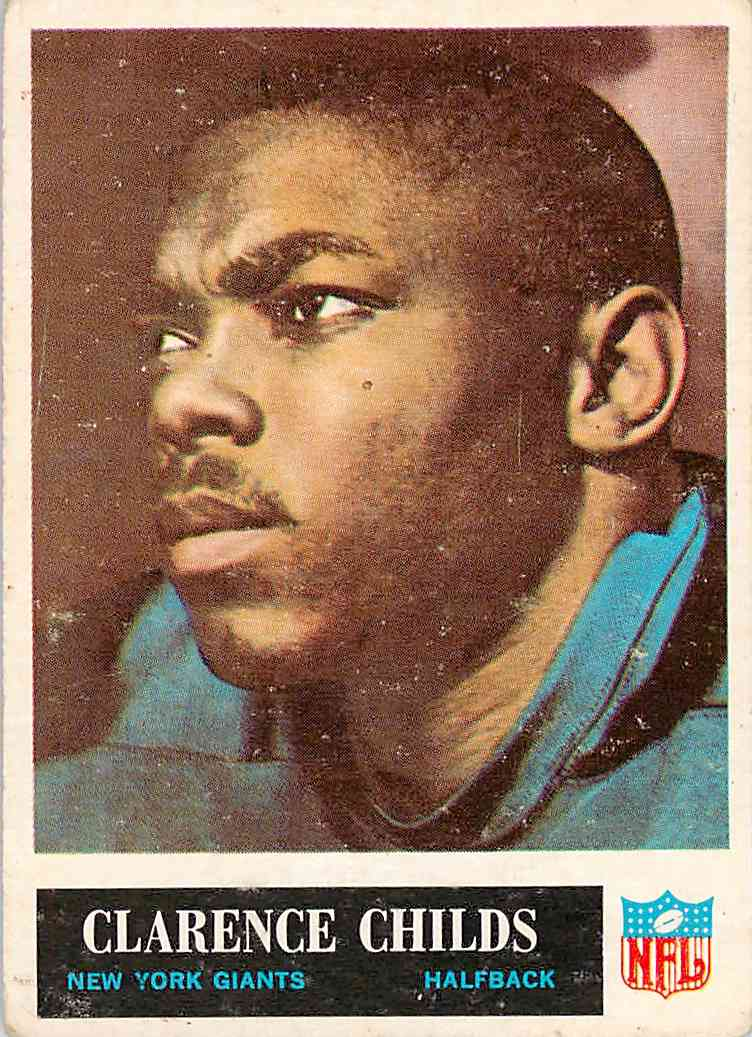 1965 Topps Clarence Childs #116 card front image