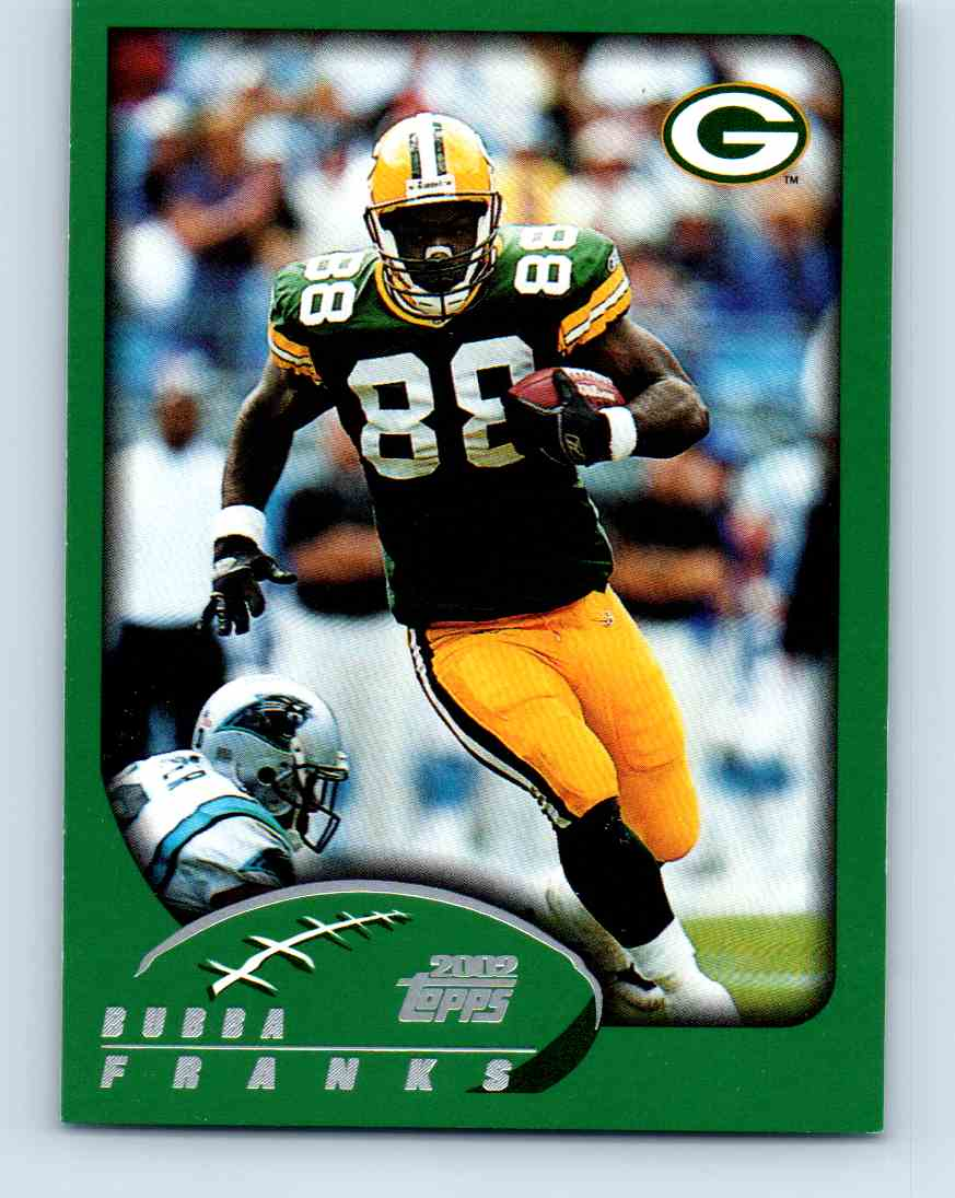 2002 Topps Bubba Franks #125 card front image