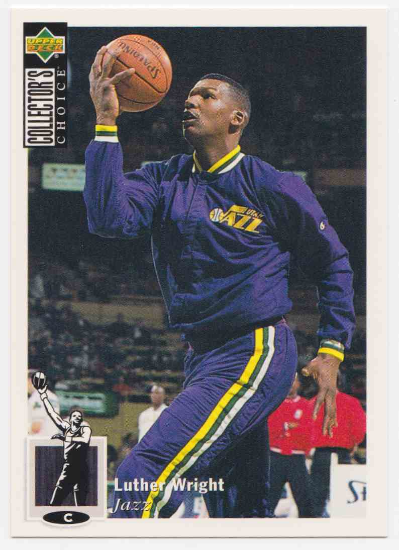 1994-95 Upper Deck Collector's Choice Base Luther Wright #57 card front image