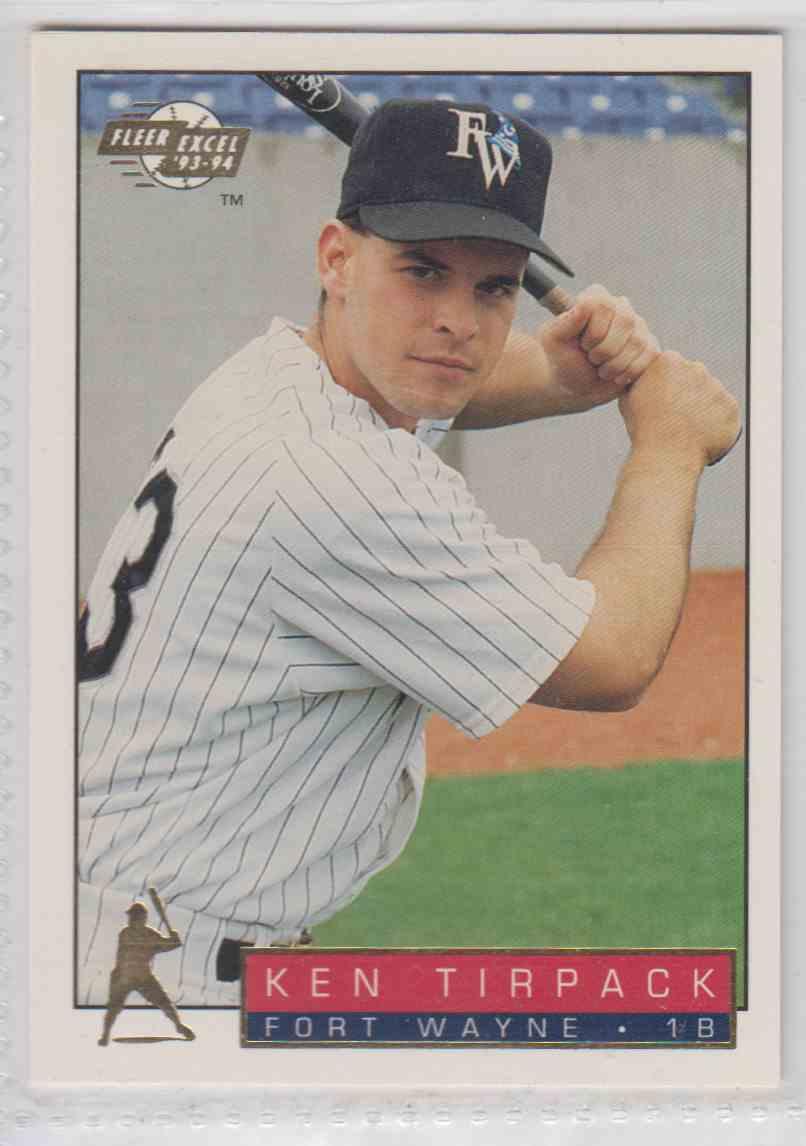 1993 1993 94 Fleer Excel Ken Tirpack 99 On Kronozio