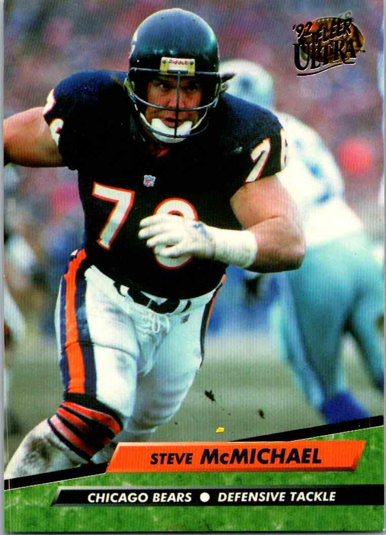 1992 Fleer Ultra Steve McMichael #43 card front image