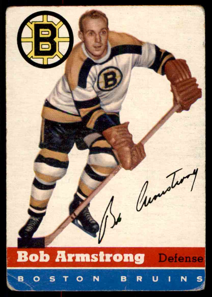 1954-55 Topps Bob Armstrong #7 card front image