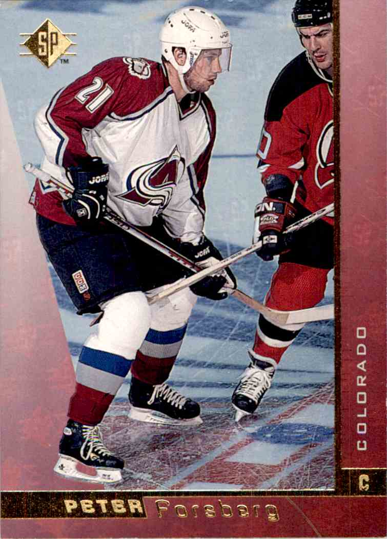 1996-97 Upper Deck SP Peter Forsberg #33 card front image