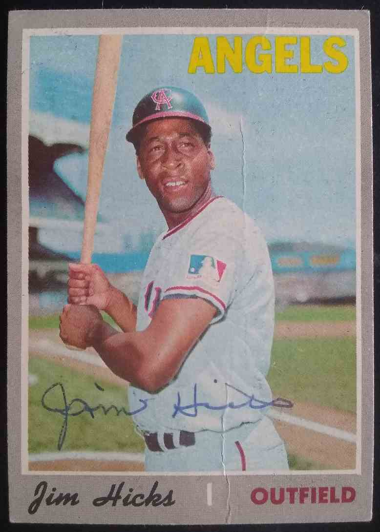 1970 Topps Jim Hicks #173 card front image