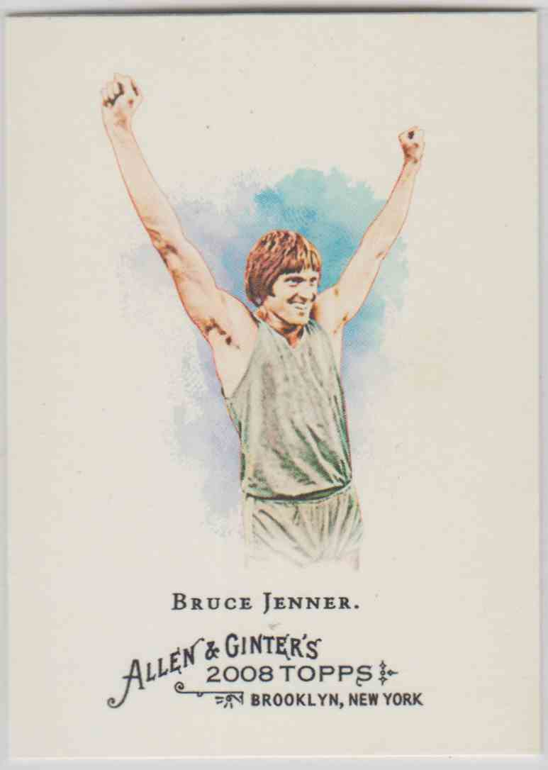 2008 Topps Allen And Ginter Bruce Jenner #208 card front image